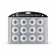 New Orleans Saints Dozen Golf Balls