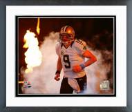 New Orleans Saints Drew Brees 2015 Action Framed Photo