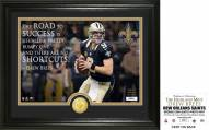 New Orleans Saints Drew Brees Quote Bronze Coin Photo Mint