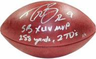 New Orleans Saints Drew Brees SB XLIV MVP Signed NFL Duke Football