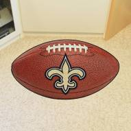 New Orleans Saints Football Floor Mat