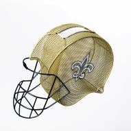 New Orleans Saints Helmet Cork and Bottle Holder