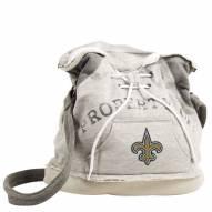 New Orleans Saints Hoodie Duffle