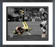 New Orleans Saints Lance Moore Super Bowl XLIV Spotlight Action Framed Photo