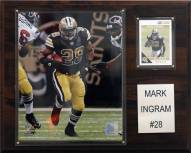 "New Orleans Saints Mark Ingram 12 x 15"" Player Plaque"