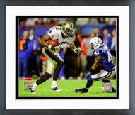 New Orleans Saints Marques Colston SuperBowl XLIV Action Framed Photo