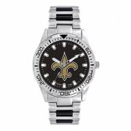 New Orleans Saints Men's Heavy Hitter Watch