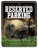 New Orleans Saints Metal Parking Sign