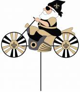 New Orleans Saints Motorcycle Wind Spinner