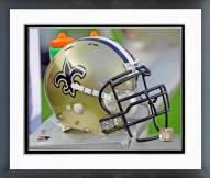 New Orleans Saints New Orleans Saints Helmet Framed Photo