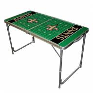 New Orleans Saints NFL Outdoor Folding Table