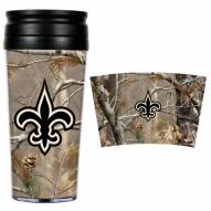 New Orleans Saints NFL RealTree Camo Coffee Mug Tumbler