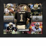 New Orleans Saints Personalized Framed Action Collage