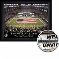 New Orleans Saints Personalized Framed Stadium Print