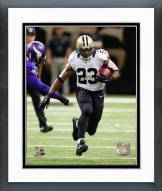 New Orleans Saints Pierre Thomas 2014 Action Framed Photo