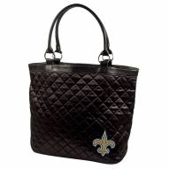 New Orleans Saints Quilted Tote Bag