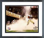 New Orleans Saints Reggie Bush 2008 Introduction Framed Photo