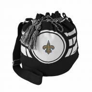 New Orleans Saints Ripple Drawstring Bucket Bag