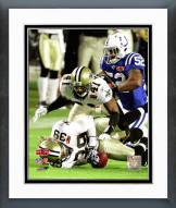 New Orleans Saints Roman Harper Super Bowl XLIV Action Framed Photo