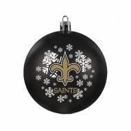 New Orleans Saints Shatterproof Ball Ornament