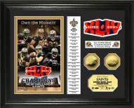 New Orleans Saints Super Bowl XLIV Champs 24KT Gold Coin Photomint