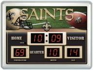 New Orleans Saints Thermometer Scoreboard Clock