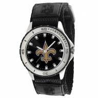 New Orleans Saints Veteran Velcro Mens Watch