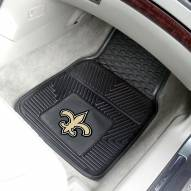 New Orleans Saints Vinyl 2-Piece Car Floor Mats