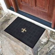 New Orleans Saints Vinyl Door Mat