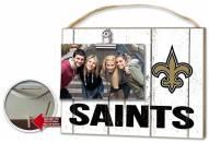 New Orleans Saints Weathered Logo Photo Frame
