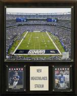"New York Giants 12"" x 15"" Meadowlands Stadium Plaque"