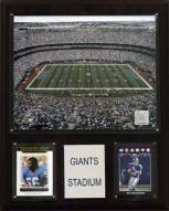 "New York Giants 12"" x 15"" Stadium Plaque"