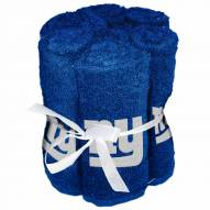 New York Giants 6 Pack Washcloths