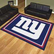 New York Giants 8' x 10' Area Rug