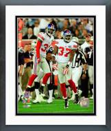 New York Giants Aaron Ross & James Butler Super Bowl XLII Action Framed Photo