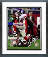New York Giants Ahmad Bradshaw Super Bowl XLII Action Framed Photo
