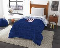 New York Giants Anthem Twin Comforter