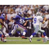 "New York Giants Antonio Pierce Chasing Down Romo Signed 16"" x 20"" Photo"