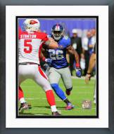 New York Giants Antrel Rolle 2014 Action Framed Photo
