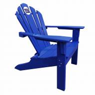 New York Giants Blue Big Daddy Adirondack Chair