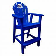 New York Giants Blue Pub Captain Chair