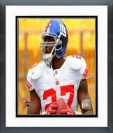 New York Giants Brandon Jacobs 2008 Action Framed Photo
