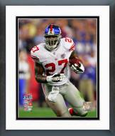 New York Giants Brandon Jacobs Super Bowl XLII Action Framed Photo