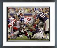 New York Giants Brandon Jacobs SuperBowl XLII Action Framed Photo