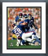 New York Giants Carl Banks Action Framed Photo