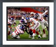 New York Giants Chase Blackburn Super Bowl XLII Action Framed Photo