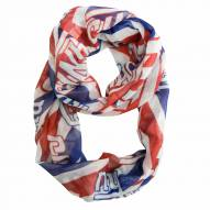 New York Giants Chevron Sheer Infinity Scarf
