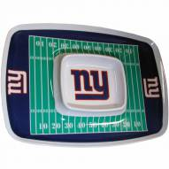 New York Giants Chip & Dip Tray