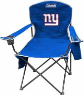 New York Giants Coleman XL Cooler Quad Chair