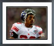 New York Giants Corey Webster Super Bowl XLII Action Framed Photo